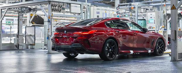 Primul BMW Seria 8 in patru portiere a intrat in productia de serie, iar concurenta nu mai poate face nimic pentru a-l stopa