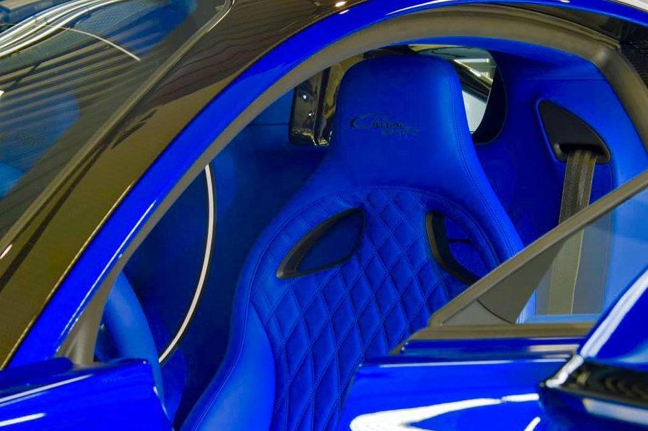 Primul Bugatti Chiron Sport