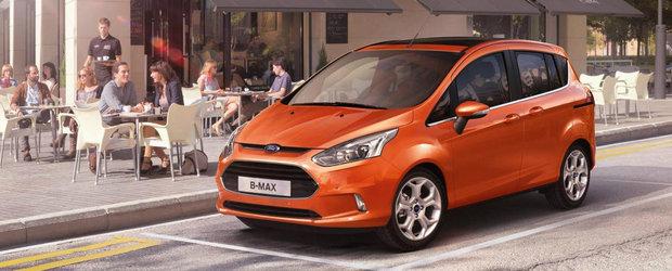 Primul client de Ford B-Max din Romania este Traian Basescu