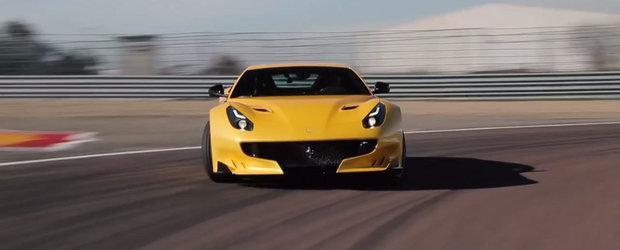Primul contact cu noul Ferrari F12tdf. Cum se simte supercarul italian
