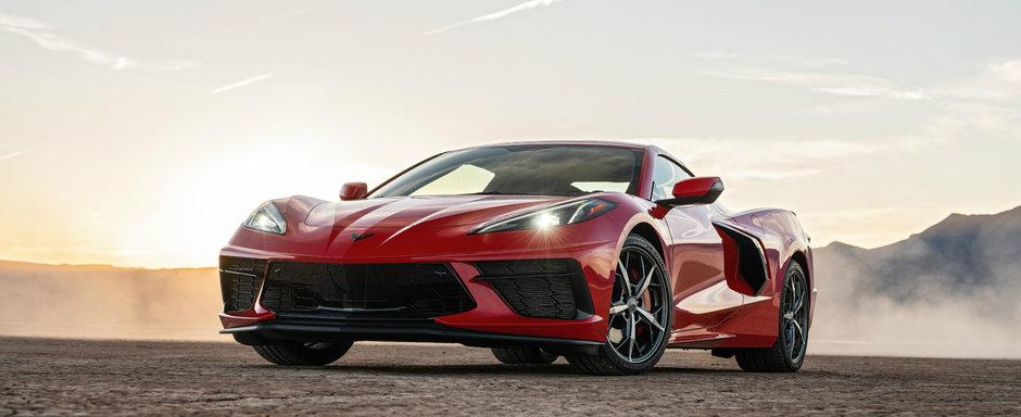 Primul Corvette cu motor central are deja probleme. Americanii il recheama in service