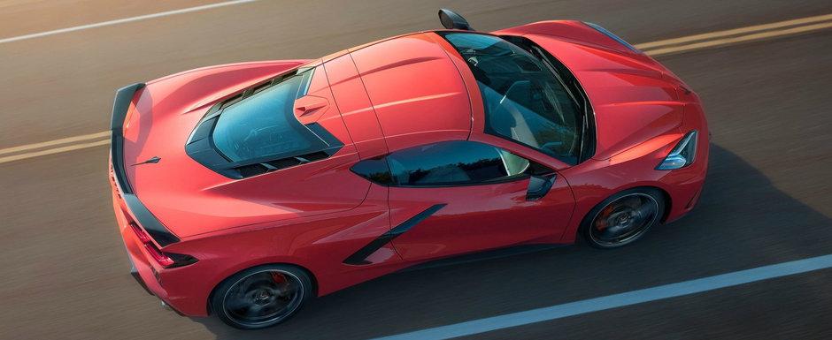 Primul Corvette cu motor central din istorie. Cat de rapid este, de fapt