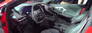 Primul Corvette cu motor central din istorie. Cum arata pe viu