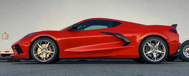 Primul Corvette cu motor central din istorie. VIDEO cu sunetul propulsorului V8 aspirat