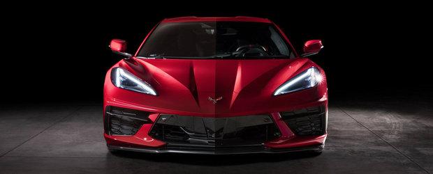 Primul Corvette cu motor central din istorie. Chevrolet pregateste o varianta cu care sa umileasca Porsche, Ferrari si Lamborghini