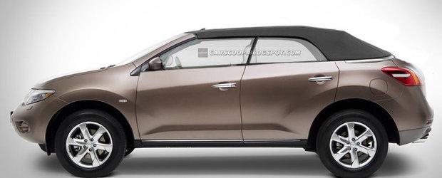 Primul Crossover decapotabil - Nissan Murano, incepe sa capete forma