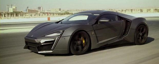 Primul filmulet cu noul Lykan Hypersport, supercarul arab de 3.4 milioane dolari!