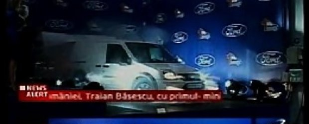 Primul Ford fabricat la Craiova a fost lansat oficial!
