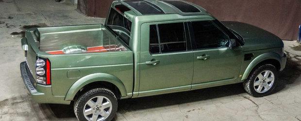 Primul Land Rover Discovery cu bena vine din Mexic. Arata de parca asa a parasit linia de asamblare