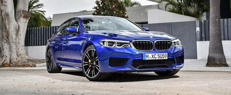 Primul M5 cu 4x4 a debutat oficial. Cum arata si ce poate noul sedan BMW de 600 CP
