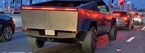 Primul pick-up de la Tesla a fost fotografiat in trafic si arata diferit de tot ce ai vazut vreodata la viata ta. POZE REALE