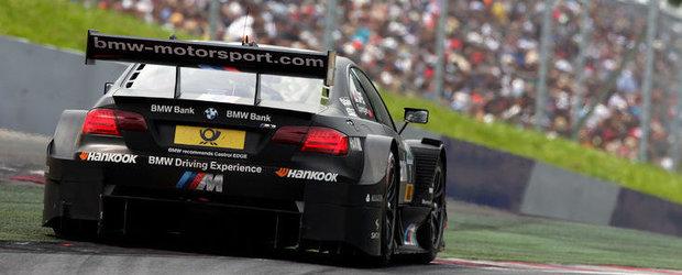 Primul podium in DTM pentru BMW Team RMG