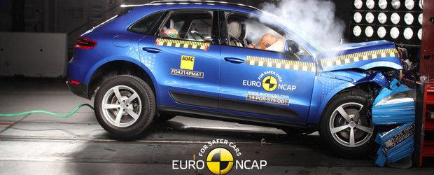 Primul Porsche testat de EuroNCAP reuseste punctajul maxim