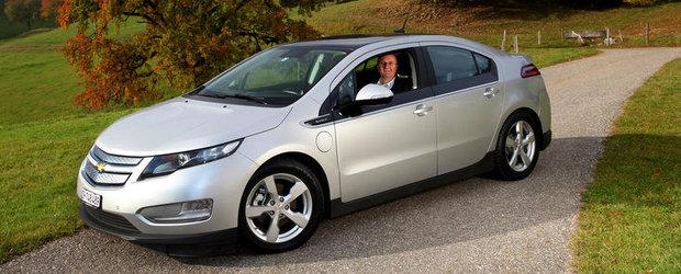 Primul posesor european al unui Chevrolet Volt porneste la drum