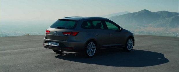Primul promo oficial pentru noul Seat Leon ST