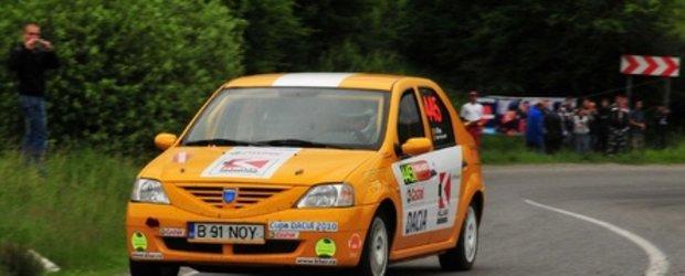 Primul raliu, primele puncte pentru Alex Mirea in Cupa Dacia