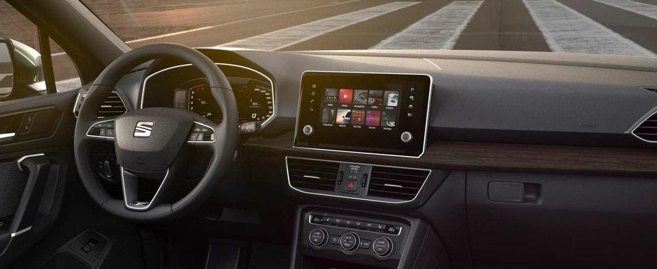 Primul SEAT de serie care ofera control prin gesturi, ca BMW Seria 7. Cum arata