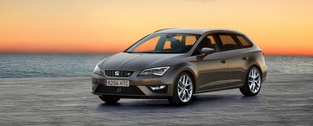 Primul Seat Leon Break s-a lansat si in Romania. AFLA CAT COSTA!
