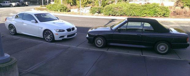 Primul si ultimul BMW M3 Cabrio, vandute la pachet de un american