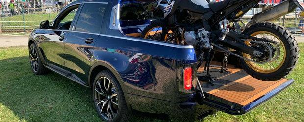 Primul SUV cu bena de la BMW. Cum arata pe viu