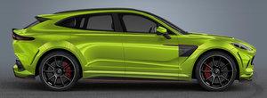 Primul SUV din istoria Aston Martin a ajuns pe mana tunerilor. Asa arata modelul britanic cu pachetul nemtilor de la Lumma