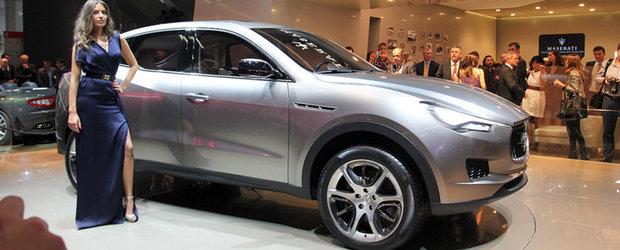Primul SUV din istoria Maserati - Noi detalii ies la iveala