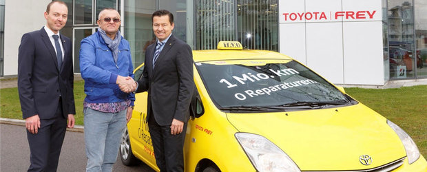 Primul taxi cu 1 milion de kilometri la bord este un Prius!
