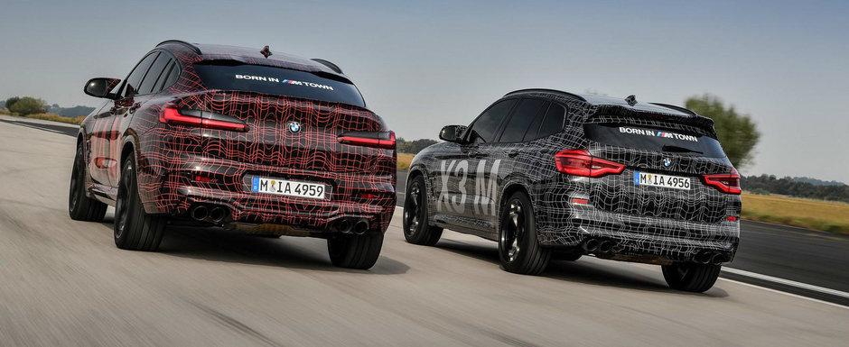 Primul teaser VIDEO cu noile SUV-uri de performanta de la BMW. La cati cai putere sa ne asteptam