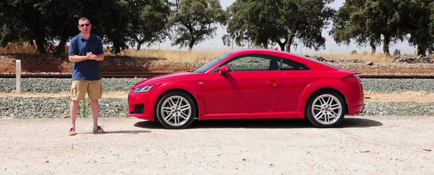 Primul test cu noul Audi TT, primele impresii pozitive