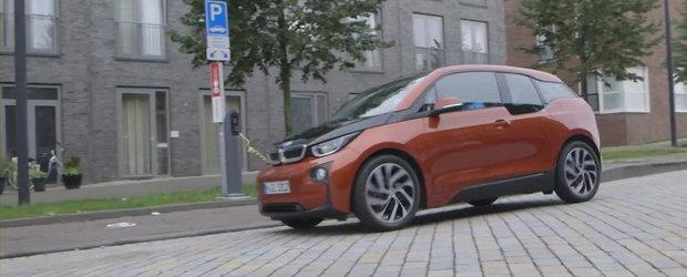 Primul test cu noul BMW i3. Cum se descurca in oras electricul bavarez
