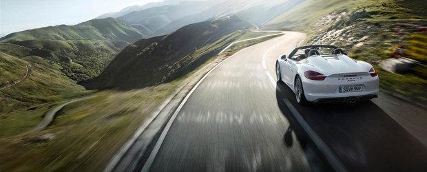 Primul test cu noul Boxster Spyder confirma perfectiunea supercarului german