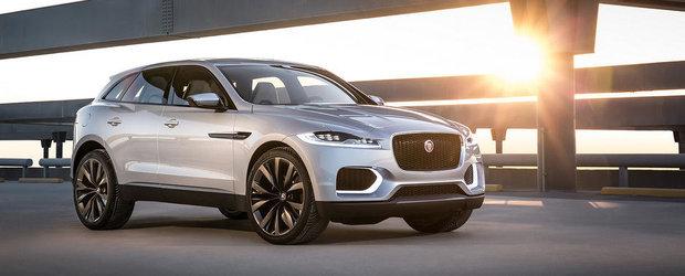 Primul test cu noul Jaguar C-X17 Concept
