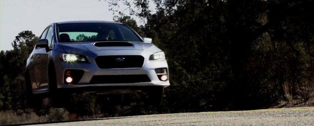 Primul test cu Subaru WRX 2015. Cum se descurca noul model