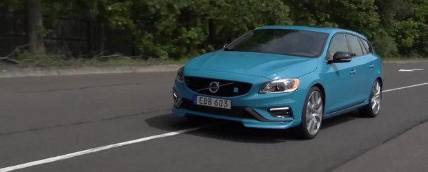 Primul test cu Volvo V60 Polestar. Impresiile sunt dintre cele mai pozitive