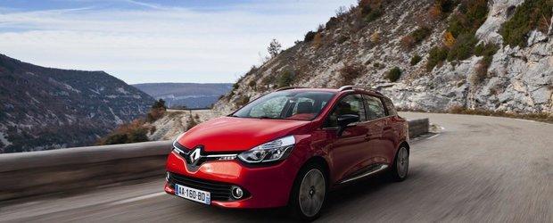 Primul test-drive cu Renault Clio Estate