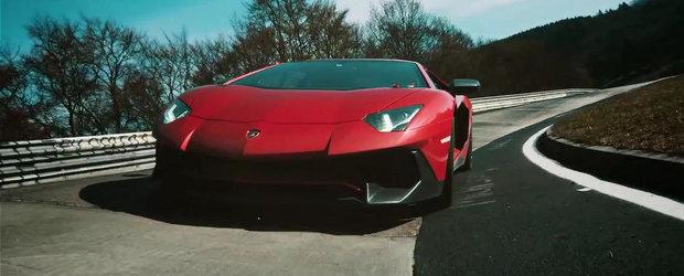 Primul test video cu cel mai puternic Lamborghini al istoriei