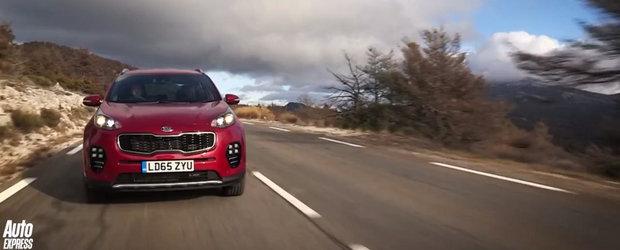 Primul test video cu noua generatie Kia Sportage. Merita SUV-ul sud-coreean?