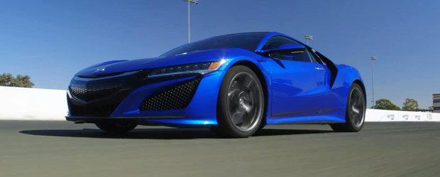 Primul test video cu noua Honda NSX. A meritat sau nu asteptarea?