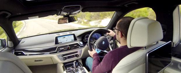 Primul test video cu noul BMW Seria 7: Mai tare decat un S-Class W222?
