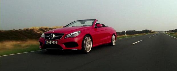 Primul test video cu noul Mercedes E-Class Cabriolet