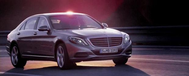 Primul test video cu noul Mercedes S-Class W222