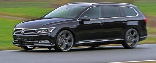 Primul tuning pentru noul VW Passat 2.0 BiTDI. Rezultatele vorbesc de la sine