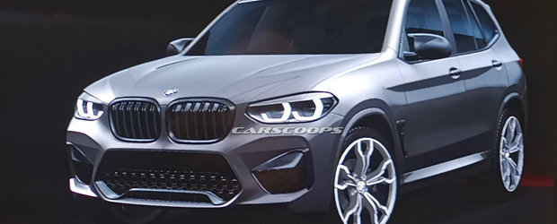 Primul X3 M din istorie a ajuns mai devreme pe internet. Cum arata SUV-ul BMW cu 330 km/h in bord