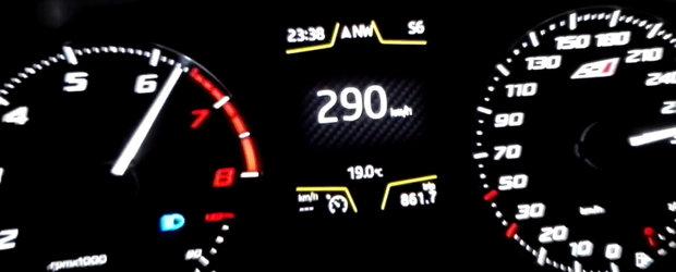 Prinde 290 km/h in linie dreapta. Hatch-ul care se ia de guler cu greii de la Porsche, Ferrari si Lamborghini