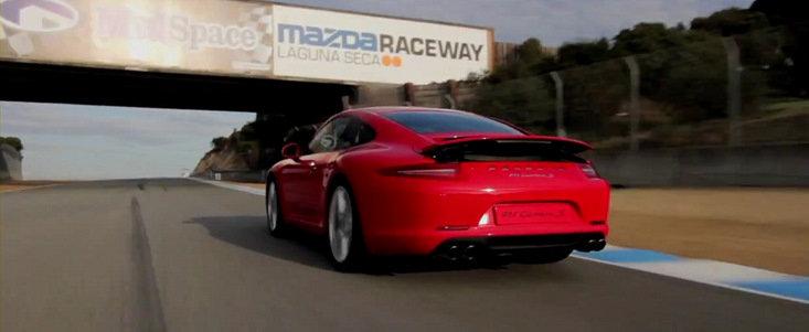 Prinde-ma daca poti: 911 Carrera S si Cayman R, duel la Laguna Seca!