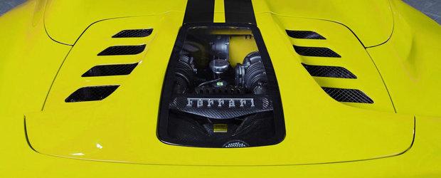 Privelistea perfecta: Capristo ofera o capota transparenta pentru Ferrari 458 Spider