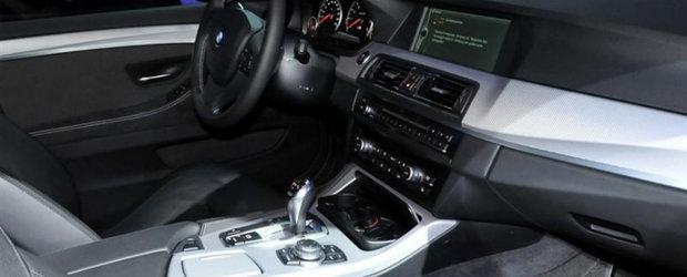 Priveste, acesta este interiorul noului BMW M5 Concept!