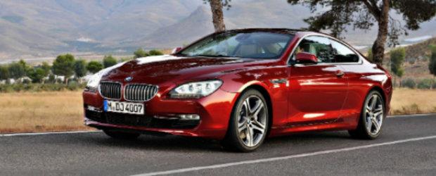 Priveste, acesta este noul BMW Seria 6 Coupe!