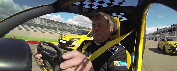 Priveste cum un Renault Twizy face de ras doua Megane-uri RS. VIDEO AICI!