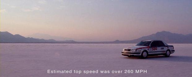 Priveste in actiune cel mai rapid Audi din toate timpurile!